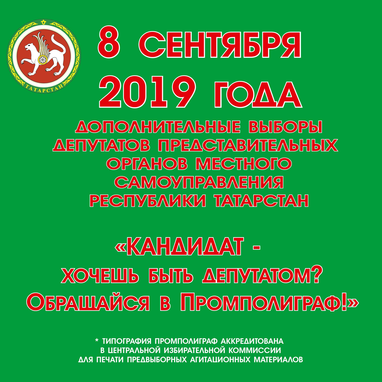 Печать агитационной программы для депутатов